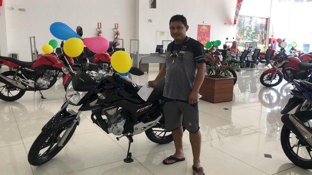 Moto Honda CG FAN 160 PRETA COMPLETA 2022 - Foto 2