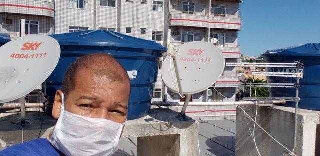 Marcio antenas sky oi claro vivo gvt e antena digital  - Foto 5