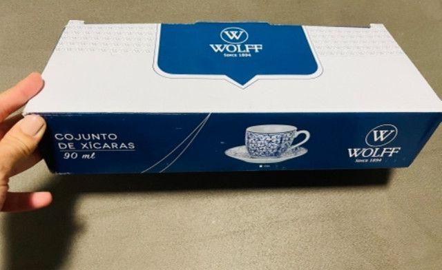 Jogo de xícaras de café Wolf - Foto 5