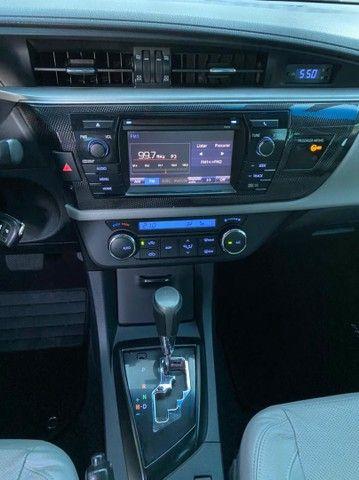 Corolla XEI 2015 c/GNV G5 - Foto 8