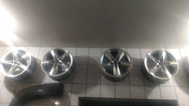 Rodas Liga leve 16 original do Ford focus 5 furos  - Foto 2