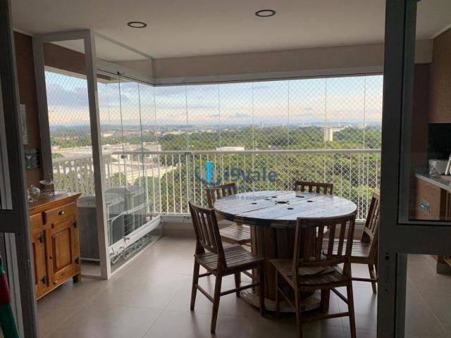 Apartamento com 3 dormitórios à venda, 122 m² por r$ 750.000 - jardim das indústrias - são - Foto 2
