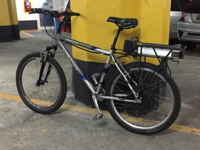 087a682e7 Bicicleta elétrica com motor potente