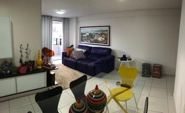 Apt com 3 quartos na Ponta Verde - 96m² - Foto 2