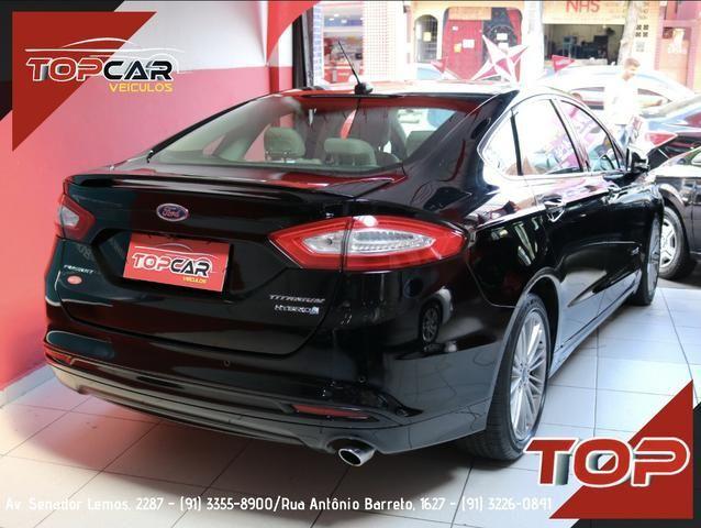 Ford Fusion Titanium Hybrid 2.0 15/16 é na Top Car! - Foto 4