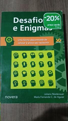 Livro Desafios e Emigmas