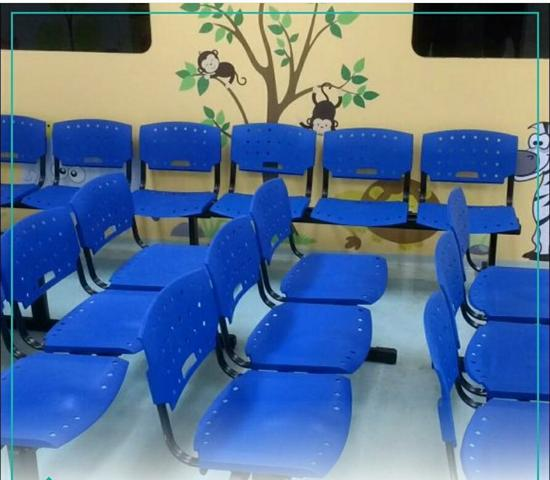Longarinas, cadeiras