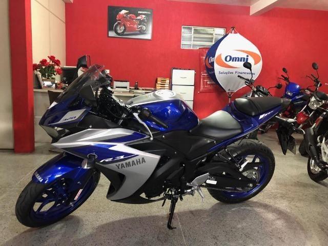 Yamaha Yzf R3 321 Azul!!!