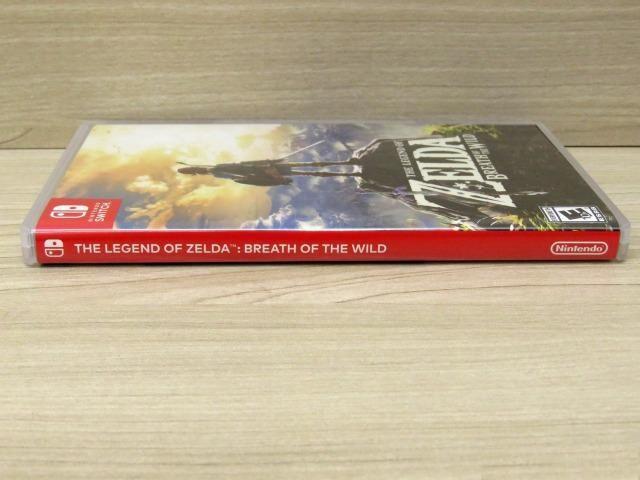 Zelda Breath of the Wild - Nintendo Switch - Apenas Venda!