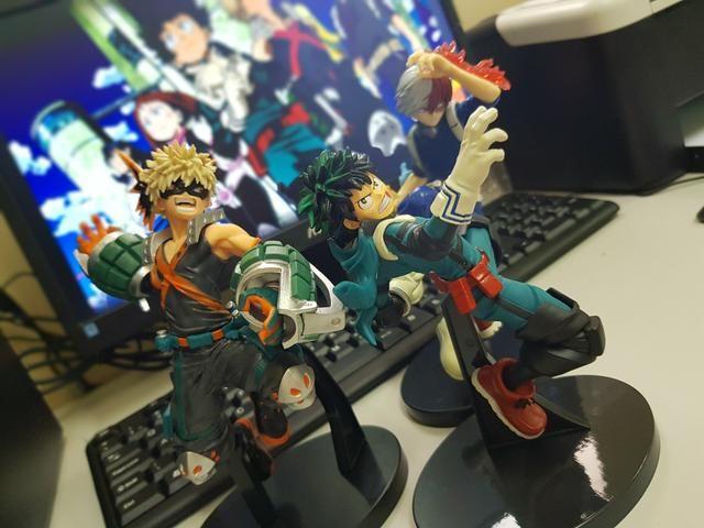 Bonecos de Boku no Hero - Foto 3