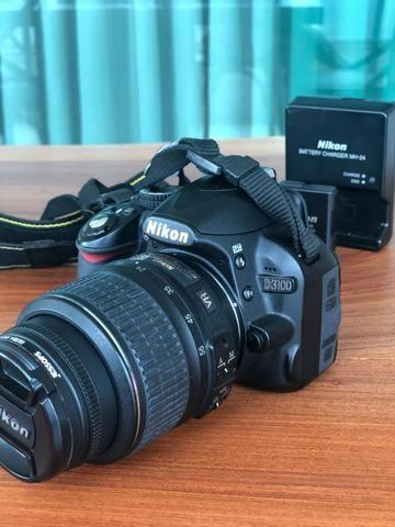 Câmera Nikon D3100 e Lente Nikon Nikkor 18-55mm (KIT) - Foto 4