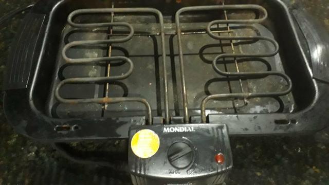 Vendo churrasqueira elétrica contato