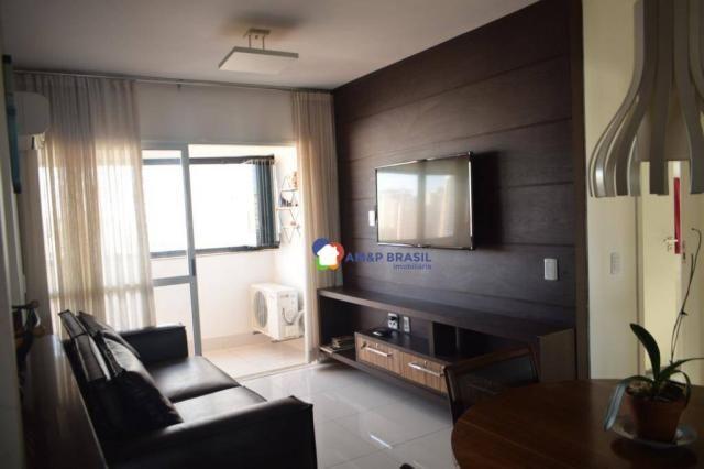 Apartamento com 2 dormitórios à venda, 69 m² por r$ 350.000 - jardim goiás - goiânia/go