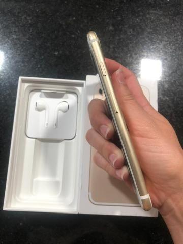IPhone 7 128g dourado - Foto 6