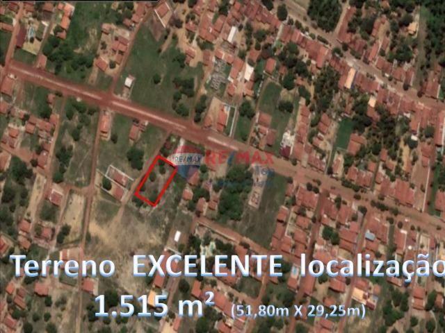 Terreno excelente em localização privilegiada - 1.515 M²