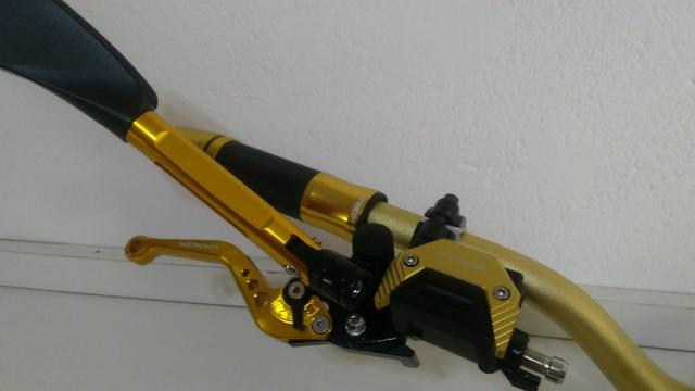 Kit Gold Special, Black, Red, Blue honda Del rey , Prata niquelado - Foto 6