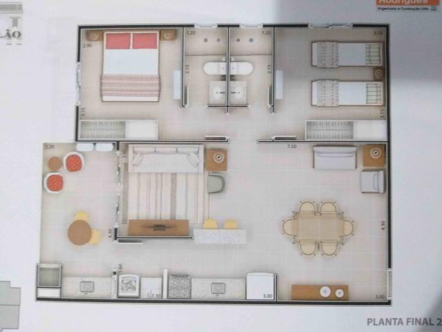 Apartamento à venda com 2 dormitórios em Itaguá, Ubatuba cod:9050 - Foto 4