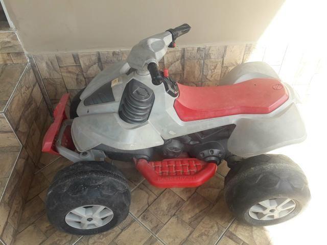 Quadriciclo infantil 12v bandeirante
