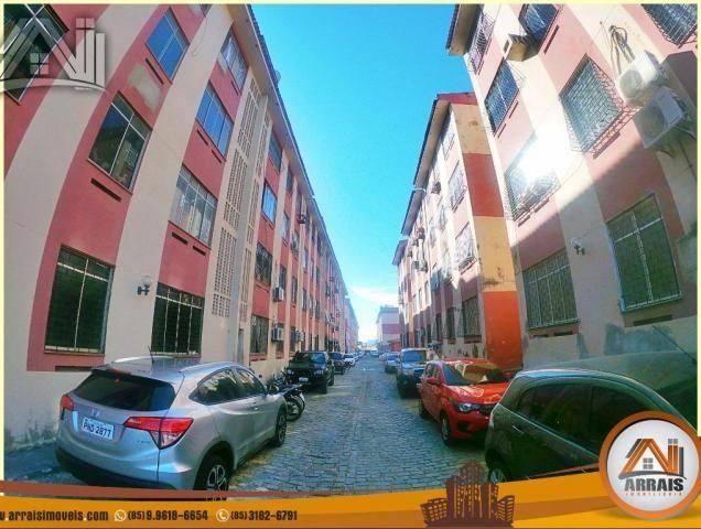 Apartamento com 2 quartos, 58m² na maraponga