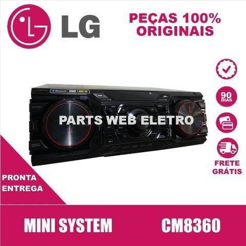 Mini System Lg Cm8360 C/ Controle S/ Caixas Acústicas