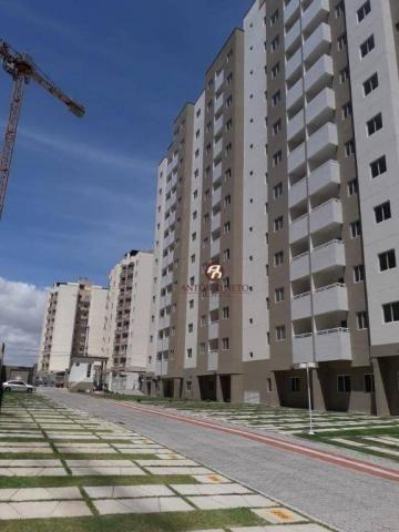 Apartamento NOVO com 3 dormitórios para alugar, 65 m² por R$ 1.150/mês - Messejana - Forta - Foto 5