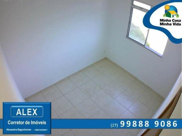 ALX - 45 - Apartamento com Subsídio de até R$ 23.200,00 e F.G.T.S como Entrada ? 2 Quartos - Foto 4