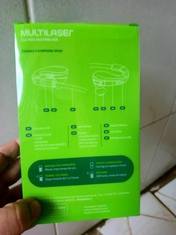 Fone de ouvido ( earphone sports) multilaser - Foto 4