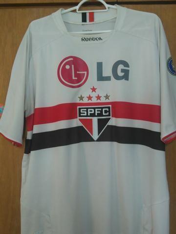 d8155032a5 Camisa SPFC São Paulo 2009 tamanho G - Esportes e ginástica - Vila ...