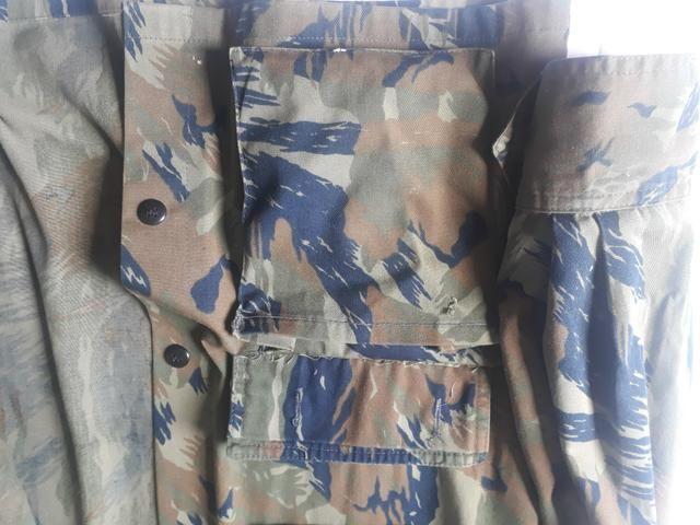 Jaqueta (USADA) camuflada padrão aeronáutica - Foto 3