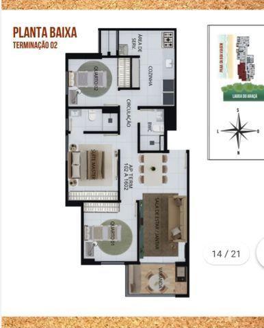 NV - Unique Hall Lagoa do Araçá 3 qts, 71m²- 81. * Whatsapp - Foto 13