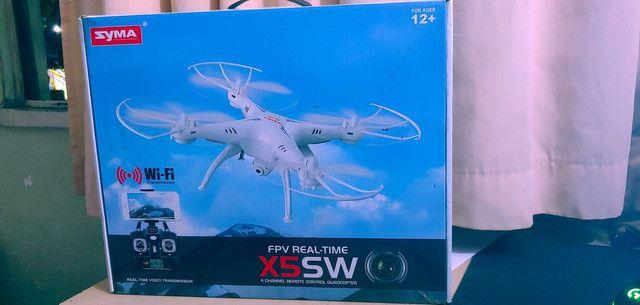 Drone X5SW Wi-Fi FPV Real Time - Syma