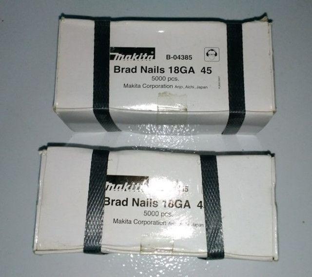 Pinos 18ga para Pinador Makita original, caixas com 5000 unidades - Foto 2