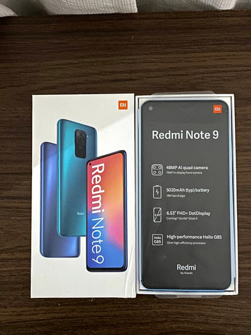 Xiaomi Redmi Note 9 128Gb Branco Pérola (Lacrado)  - WHATS ( 8 4 ) 9 8 8 3 8 - 8 8 8 8 - Foto 3