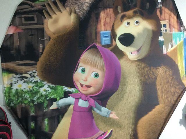 Vestido Marsha e o urso +painel de pano - Foto 6