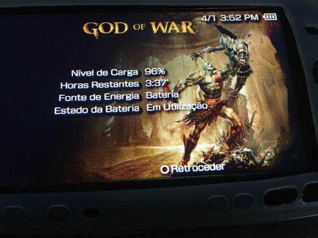 PSP Slim 3001 Destravado/ 16GB - Foto 4