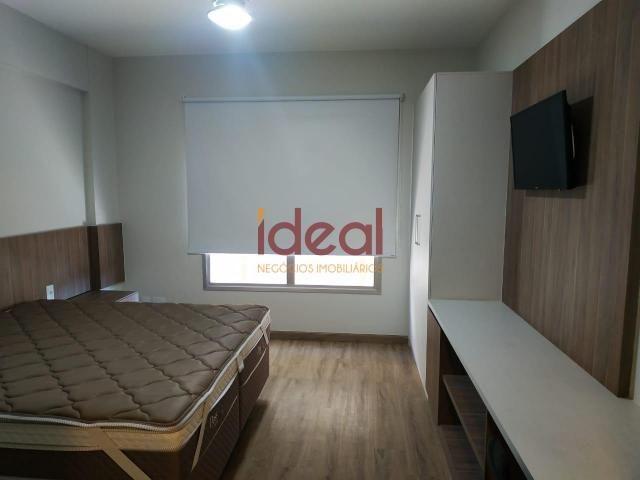 Flat para aluguel, 1 quarto, 1 suíte, Centro - Viçosa/MG - Foto 10