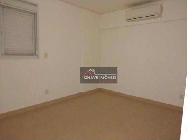 Apartamento com 3 dormitórios à venda, 111 m² por R$ 740.000,00 - Marapé - Santos/SP - Foto 12