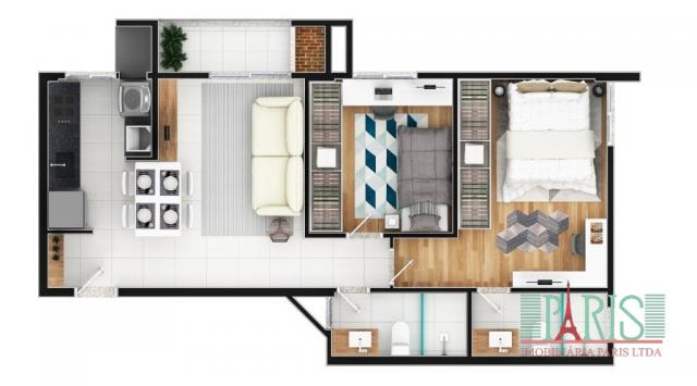 Apartamento à venda com 2 dormitórios em Iririú, Joinville cod:367 - Foto 7