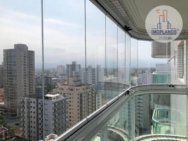 Apartamento com 2 dormitórios à venda, 78 m² por R$ 410.000,00 - Aviação - Praia Grande/SP - Foto 3