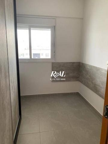 Apartamento com 2 dormitórios (1 suíte) à venda e locação, 72 m² - Gonzaga - Santos/SP - Foto 11