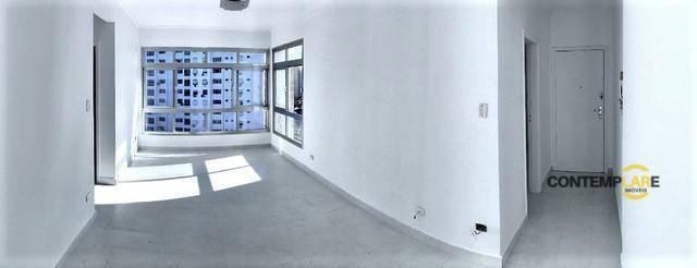 Apartamento com 3 dormitórios à venda, 98 m² por R$ 575.000,00 - Ponta da Praia - Santos/S - Foto 8