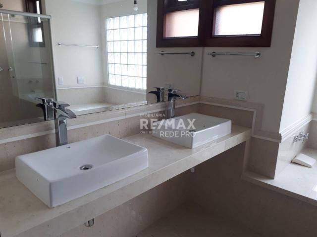 Casa com 3 dormitórios para alugar, 500 m² por R$ 7.300,00/mês - Condomínio Vista Alegre - - Foto 10