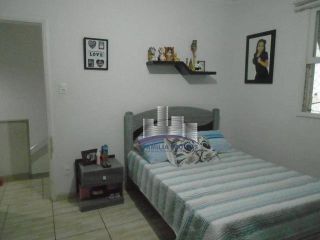 Sobrado com 3 dormitórios à venda por R$ 530.000,00 - Campo Grande - Santos/SP - Foto 14