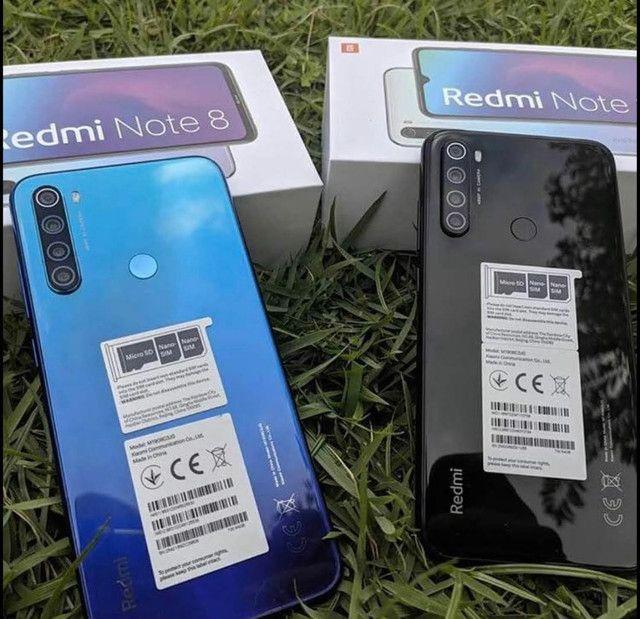 Xiaomi Redmi Note 8 64Gb Preto Branco ou Azul (Lacrado)  - ( 8 4 ) 9 8 8 3 8 - 8 8 8 8  - Foto 2