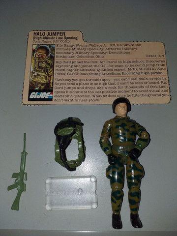 Boneco G.i.joe/Comandos em Ação - Rip Cord / Halo Jumper - Epic Toys Brasil - Foto 3