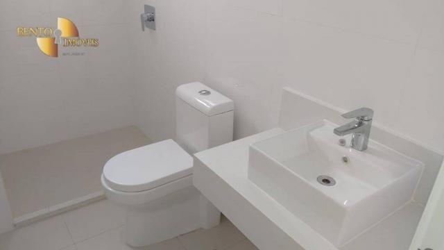 ED ROYAL PRESIDENT - Apartamento com 4 dormitórios à venda, 237 m² por R$ - Bosque - Cuiab - Foto 9
