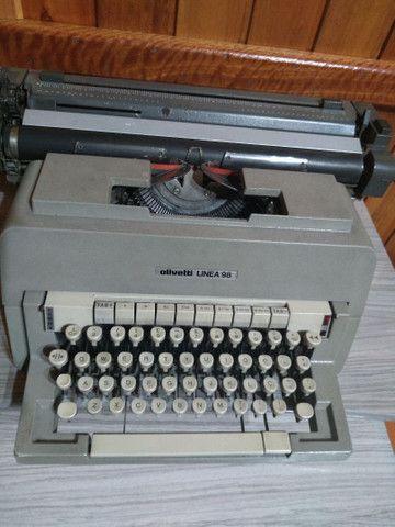 Linda !!! Máquina de escrever antiga !!! - Foto 3