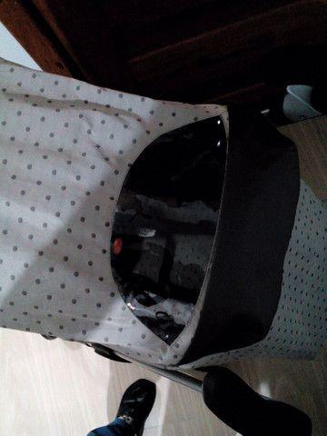 Carrinho lindo cinza e preto - Foto 5