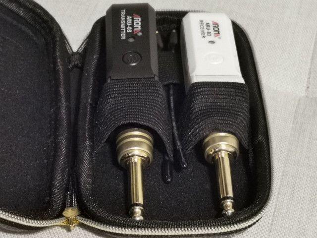 Transmissor uhf para instrumentos musicais