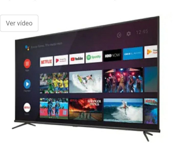 Smart TV 4K LED 50 SEMP TCL 50P8M Android Wi-Fi - - Foto 2